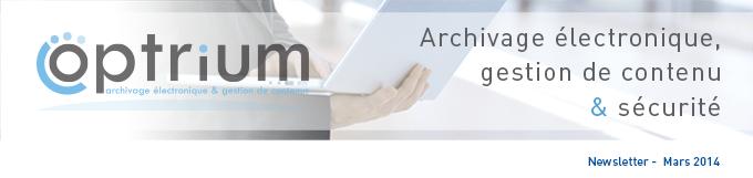 Optrium - Archivage electronique et gestion de contenu
